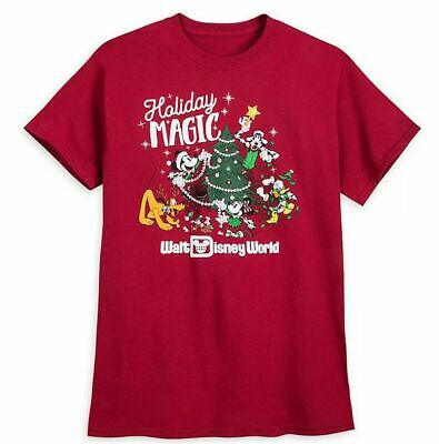 Disney Parks 2019 Mickey Mouse And Friends Holiday Magic Adult Size XXXL NWT