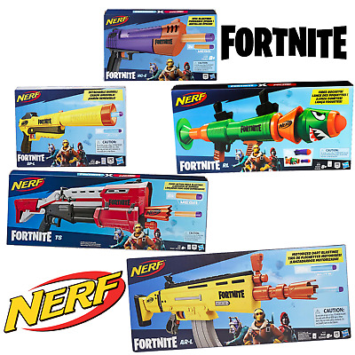 Official Hasbro Fortnite Nerf Blasters / New and Sealed