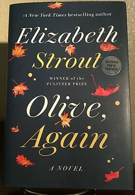 OLIVE AGAIN by Elizabeth Strout (2019, Hardcover) *SIGNED* First Edition