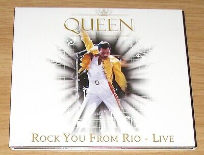 Queen - Rock You From Rio - Live (Digipak) Cd - As New