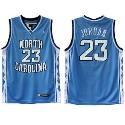 Michael Jordan #23 North Carolina Tar Heels Replica Throwback Stitched Jersey