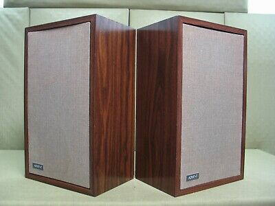 Advent/1 Vintage Audiophile Grade Speakers ( RARE Consecutive Serial #'S )