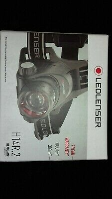 LED Lenser H14R.2 Rechargeable Head Torch - Running, Cycling, Hunting, Fishing