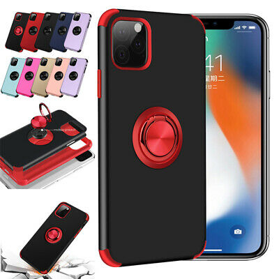 For Apple iPhone 11 Pro Max XS XR X 6 7 8 Plus Shockproof Hybrid Case With Stand