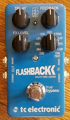 TC Electronic Flashback Delay Guitar Effect Pedal Great Condition