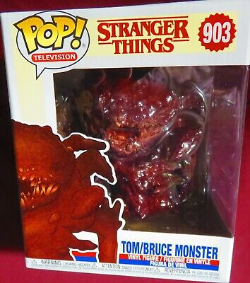 "Brand New Pop Tv, Season 3  ""Stranger Things"", Tom/Bruce Monster, #903  In Hand"