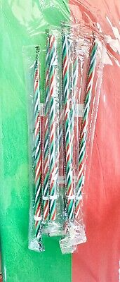 NEW Starbucks Holiday 2019 VENTI Tumbler Cold Cup Straw Striped Candy Cane One