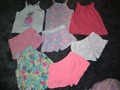 Girls Summer Bundle, 4 Outfits, Age 4-5 Years Excellent Condition