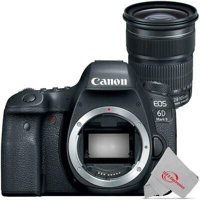 Canon EOS 6D Mark II Digital SLR Camera with Canon EF 24-105mm f/3.5-5.6 IS STM