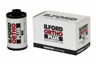 Ilford Ortho Plus 135-36 Exposure Black & White Film