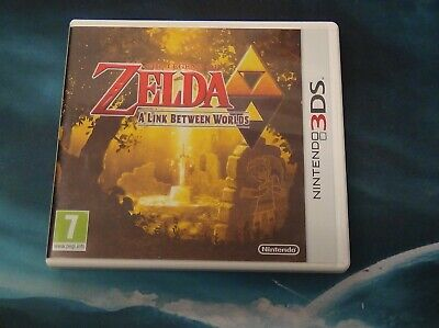 The Legend of Zelda: A Link Between Worlds Boxed - Nintendo 3DS - TESTED WORKS