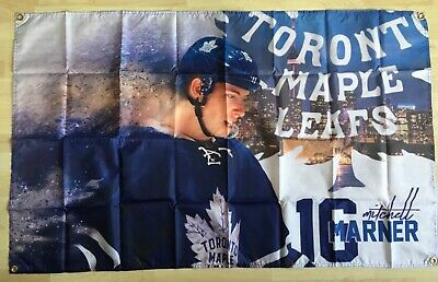 NHL Toronto Maple Leafs Mitch Marner 3' x 5' Polyester Banner Flag