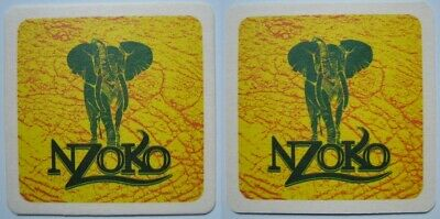 Posavasos Beer coaster Bierdeckel Nzoko Republic of Congo