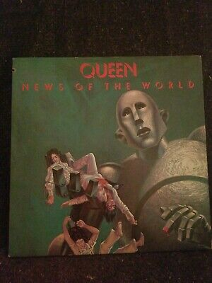 Queen - News of the World LP We will Rock you We are the Champions Vinyl Record