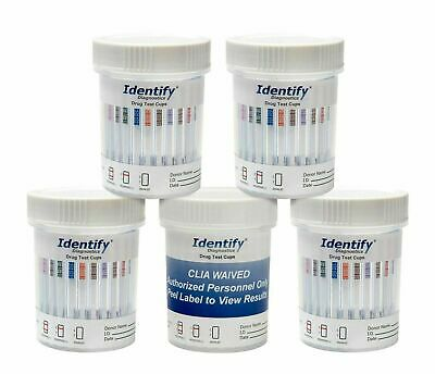 5-Pack Urine Diagnostic 12 Panel Drugs Test Cup with BUP Testing Instantly 12/20