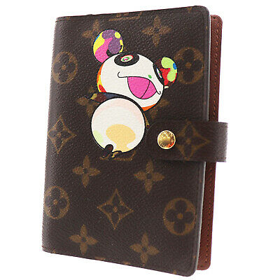 LOUIS VUITTON Panda Agenda PM Day Planner Cover Monogram R20011 Auth #EE549 I