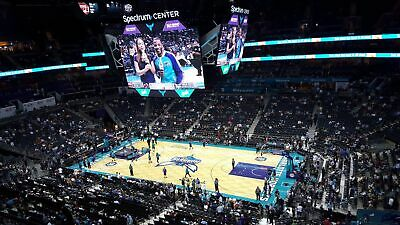 (2) Charlotte Hornets vs Golden State Warriors tickets 12/4/19 FIRST ROW! AISLE!