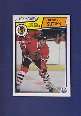 Darryl Sutter 1983-84 O-PEE-CHEE Hockey #113 (NM) Chicago Blackhawks