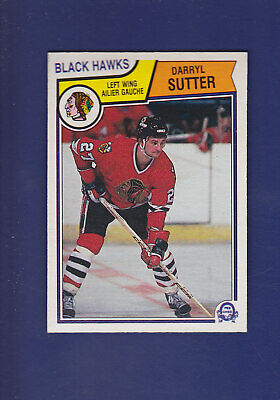 Darryl Sutter 1983-84 O-PEE-CHEE Hockey #113 (NM+) Chicago Blackhawks