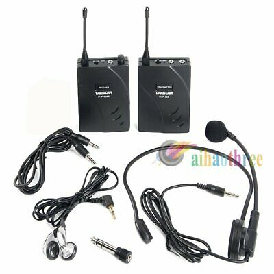 Takstar UHF-938 PLL 50m Wireless Tour Guide System Transmitter & Receiver【AU】
