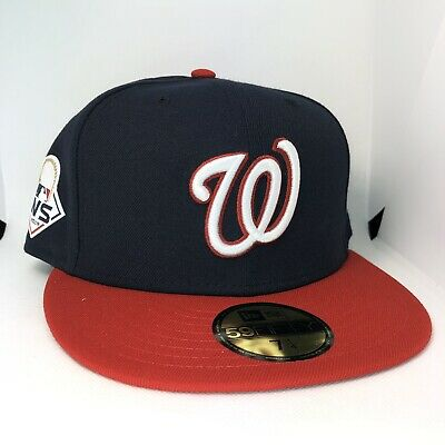 Washington Nationals New Era 2019 World Series Hat Cap 59FIFTY Size 7 1/4 NWT