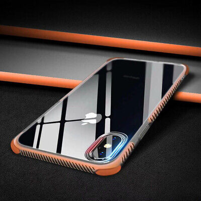 Ultra Thin Clear Soft Case Shockproof Bumper Cover For iPhone 11 Pro Max XR XS 8
