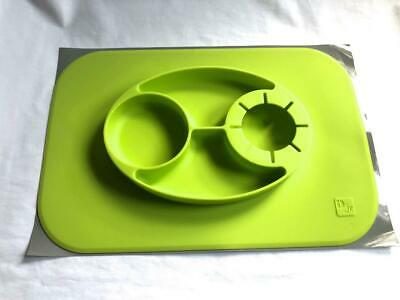 New Childrens/ Baby Jr Silicone Food Mat with Feeding Dish