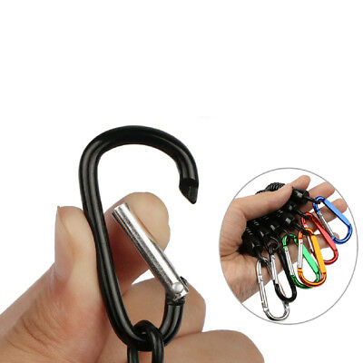 New Retractable Rope Fishing Camping Tools Secure Pliers Lanyard Coiled IN9