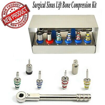 Dental Bone Compression Kit Surgical Sinus Lift Expander Implant Instruments New