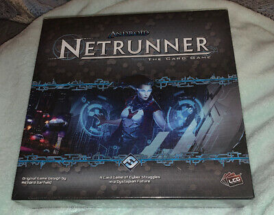 Android Netrunner The Card Board Game NEW Sealed Seven Repos