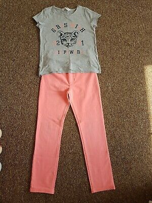 girls outfit age 9-10 h&m