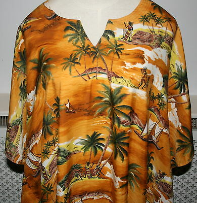 Very Large Oasis Free Style Kaftan - Beach Wear (Unisex) # Z9