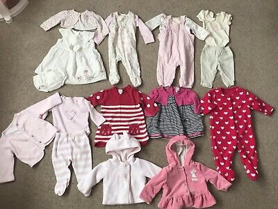 Baby Girls Clothing Bundle Age 0-3 Months Mothercare Bluezoo Jasper Conran Georg