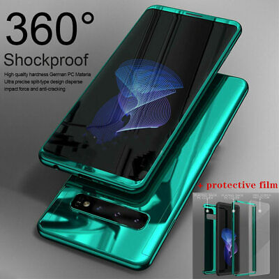 Samsung Galaxy S10 5G S8 Plus Note 9 Shockproof 360° Case Cover+Screen Protector