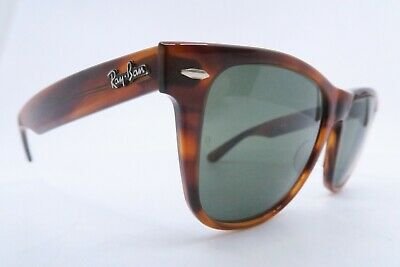 Vintage B&L Ray Ban Wayfarer II sunglasses etched BL made in the USA KILLER ****