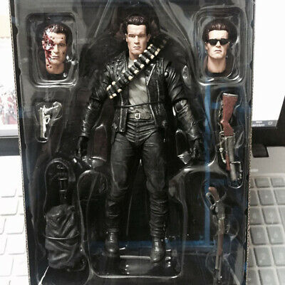 "NECA Terminator 2 Judgment Day T-800 Ultimate Arnold 7"" Action Figure Doll New"