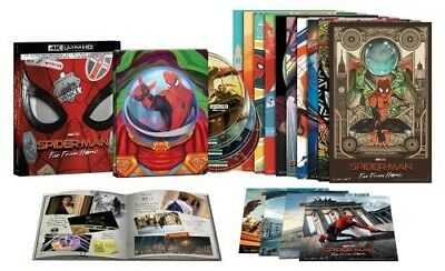 Spider-Man Far From Home 4-Disc FNAC Limited Edition SteelBook Box Set (France)