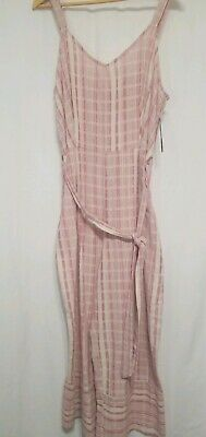 Sharagano New York Romper Pants Jumpsuit Size 14 Tart Raspberry