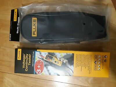 Fluke T150 Voltage and Continuity Tester + C150 Case