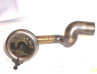 Kent Attachment With A Victor Victrola No 2 Phonograph Disc Reproducer