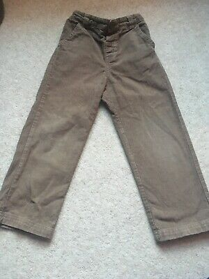 Jojo Maman Bebe Brown Cord Trousers 4-5 Years