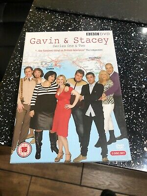 Gavin A Stacey Series One And Two New In Wrapper 3disc Box Set