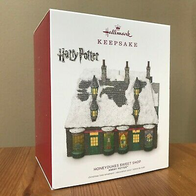 Hallmark Harry Potter Honeydukes Sweet Shop 2018 Keepsake Ornament