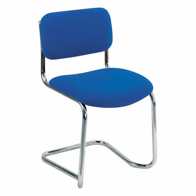 NEW! Arista Cantilever Meeting Chair Blue CH0501