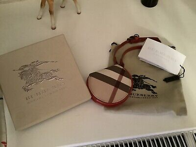 Burberry Check Girls Wristlet Purse With Pouch & Box New