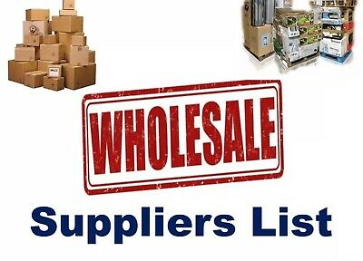 50,000+ Wholesale Suppliers List -  U.k. And Worldwise *2019* Upto 95% Off All