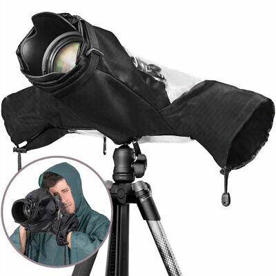 Waterproof Camera Rain Cover Shield Coat Protector Sleeve for Large Canon Nikon