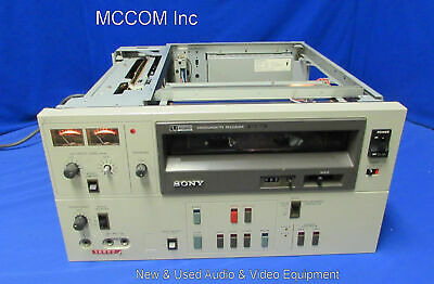 """Sony VO-5600  3/4"""" UMatic Videocassette Recorder AS IS/ Parts"""