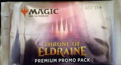 Magic The Gathering Throne Of Eldraine Premium Promo Booster Pack Sealed