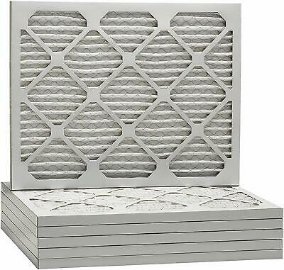 Merv 8 Pleated AC Furnace Filters. Made In the USA. Case of 6